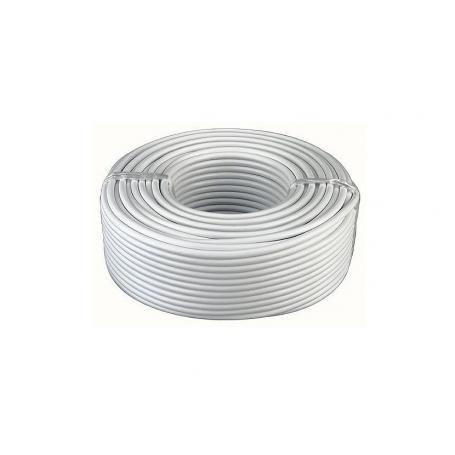 Câble blindé rigide d'installation sans PVC gris 3 x 1.5 mm² Danell