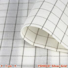 Tissu de protection anti-ondes basses fréquences Earthing Silver-Grid YShield