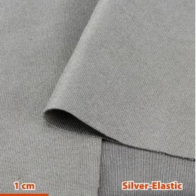 Tissu de protection anti-ondes hautes et basses fréquences Silver-Elastic YShield