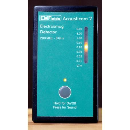 Acousticom 2, détecteur acoustique des hautes fréquences, EMFields