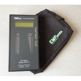 Acoustimètre AM-10 EMFields, appareil de mesure acoustique des hautes fréquences + housse de transport