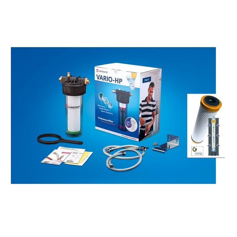 CARBONIT port-set pour sanuno filtre à eau