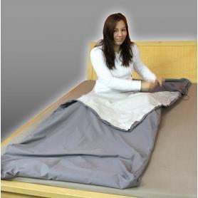 Sac de couchage anti-ondes tissu Steel-Gray Yshield