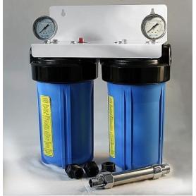 Filtration centralisée anticalcaire écologique Ydrokalk - Big Duo + ProKalk