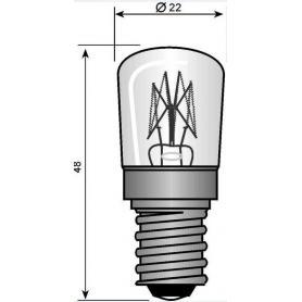 Ampoule à incandescence E14 25 W