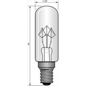 Ampoule à incandescence E14 40 W