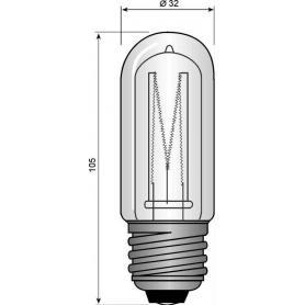 Ampoule halogène E27 150 W