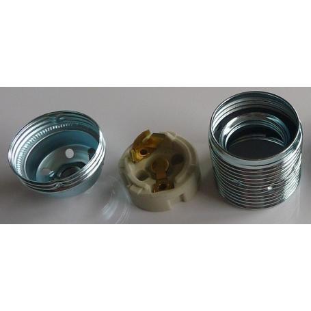 Douille métallique E14 Danell
