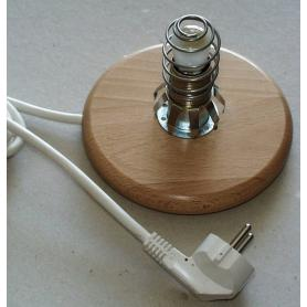 Socle blindé Danell pour lampe à sel