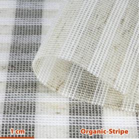 Tissu de protection anti-ondes hautes et basses fréquences Organic-Stripe YShield