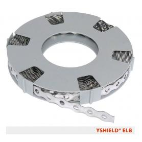 Ruban de mise à la terre en acier inoxydable ELB YShield