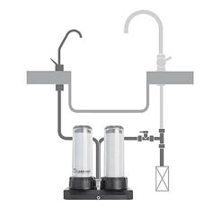 montage carbonit duo robinet séparé