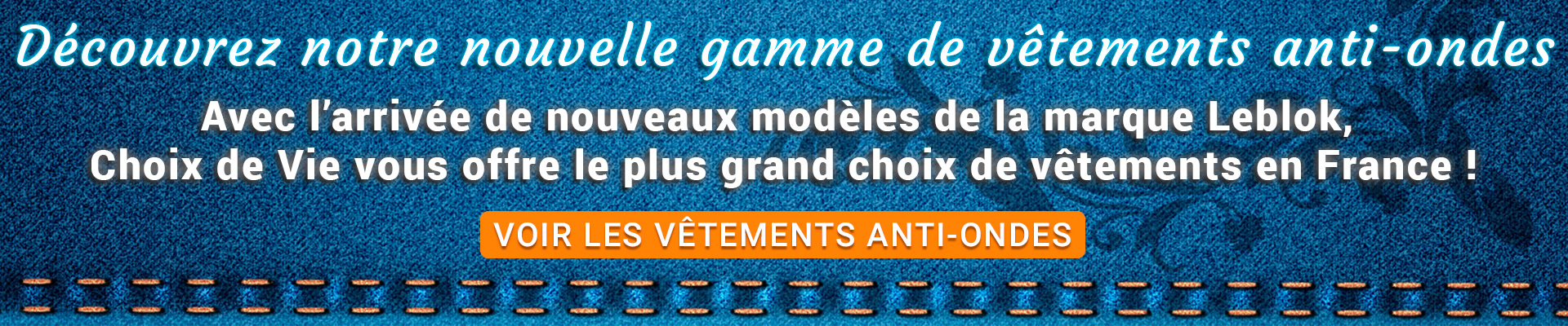 Vêtements anti-ondes